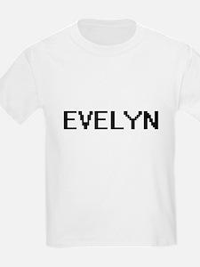 Evelyn Digital Name T-Shirt
