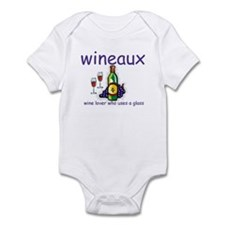 Wine Lover - Wineaux Infant Creeper