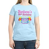 Personalized 90th birthday Women's Light T-Shirt