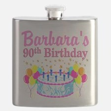 90 AND FABULOUS Flask