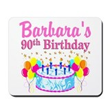 90th birthday Classic Mousepad