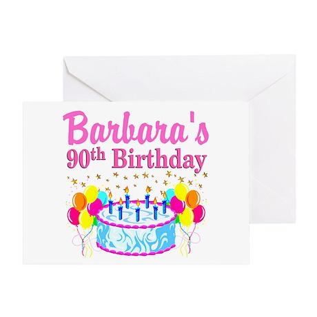 90Th Birthday 90th Birthday Greeting Cards CafePress