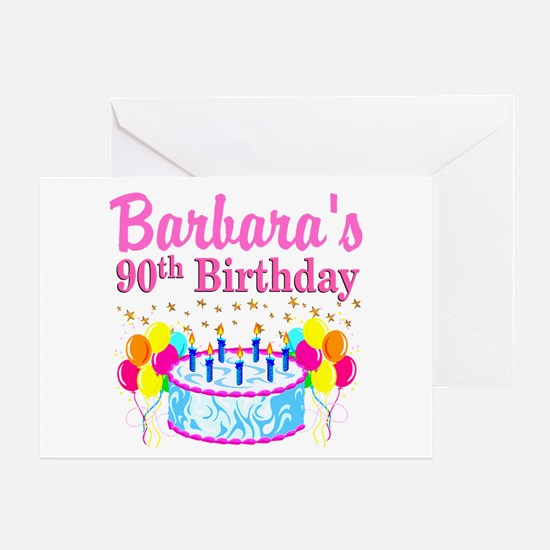 90Th Birthday 90th Birthday Greeting Cards – Images of Birthday Greeting