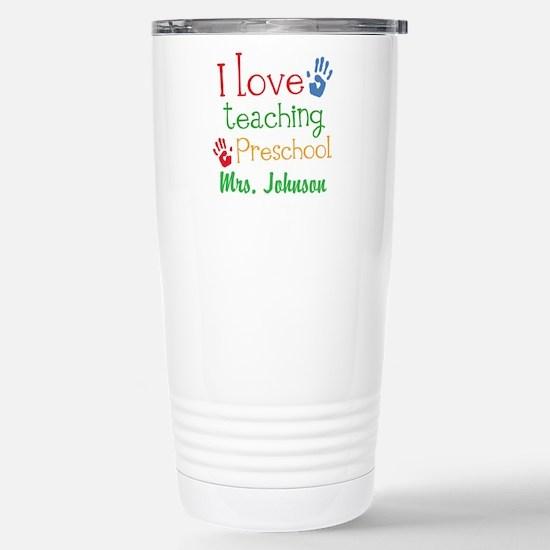 I Love Teaching Preschool Mugs