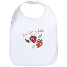 Strawberry Fields Bib