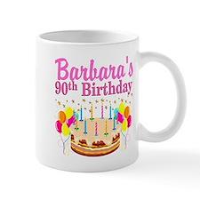 90 AND FABULOUS Small Small Mug