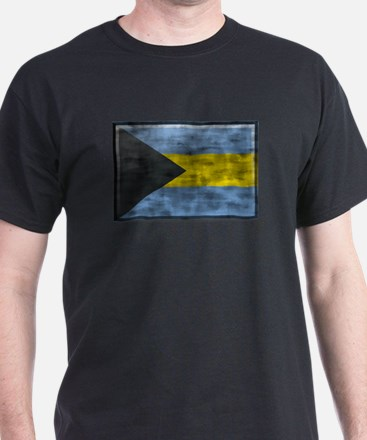 Dirty Bahamas Flag T-Shirt