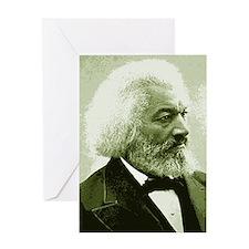 "Frederick Douglass ""Agitate!"" Greeting Card"