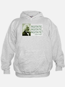 "Frederick Douglass ""Agitate!"" Hoodie"