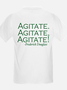 "Frederick Douglass ""Agitate!"" T-Shirt"