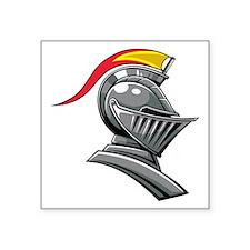 Medieval Soldier Helmet Sticker