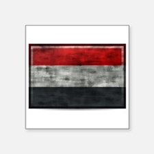 Dirty Yemen Flag Sticker