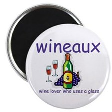 """Wine Lover - Wineaux 2.25"""" Magnet (10 pack)"""