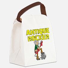 ANTIQUE ROCKER Canvas Lunch Bag