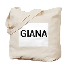 Giana Digital Name Tote Bag