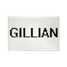 Gillian Digital Name Magnets