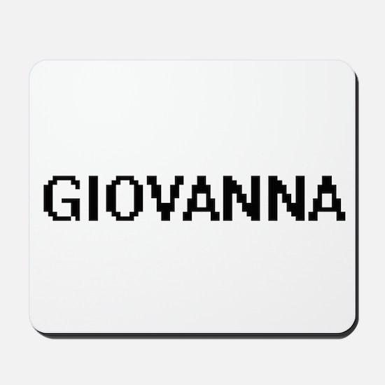 Giovanna Digital Name Mousepad