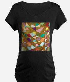 Abstract Colors Sun Burst T-Shirt