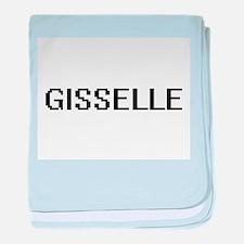 Gisselle Digital Name baby blanket