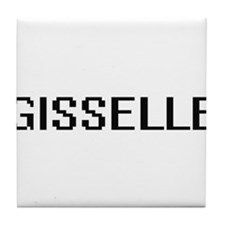 Gisselle Digital Name Tile Coaster