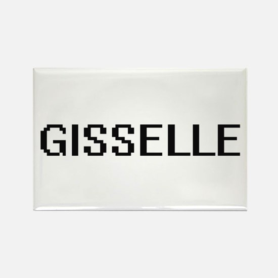 Gisselle Digital Name Magnets