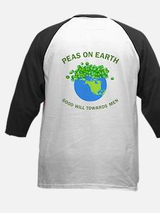 Peas on Earth Back Image Tee