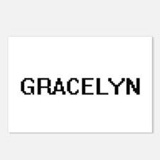 Gracelyn Digital Name Postcards (Package of 8)