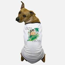 Adam and Eve Dog T-Shirt