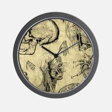 Vintage Human Anatomy Wall Clock