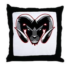 Ram Mascot Throw Pillow