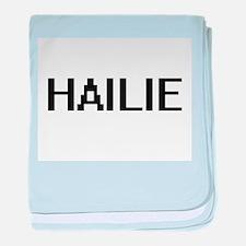Hailie Digital Name baby blanket
