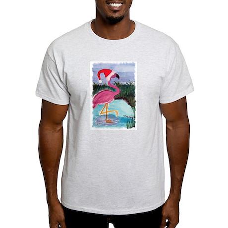 Santa Flamingo Light T-Shirt