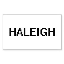 Haleigh Digital Name Decal