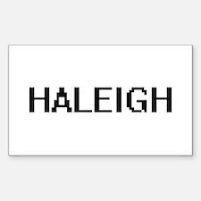 Haleigh Digital Name Decal