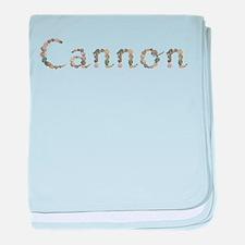 Cannon Seashells baby blanket