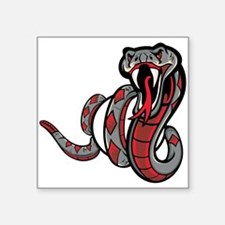 Diamondback Rattle Snake Sticker