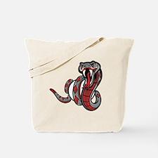 Diamondback Rattle Snake Tote Bag