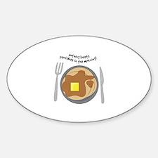 Pancakes In Morning Decal