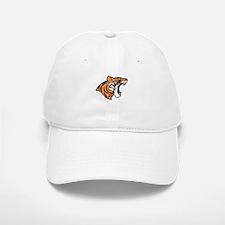 Tiger Roaring Baseball Baseball Baseball Cap