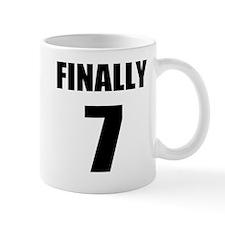 7th Birthday Humor Mug