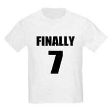 7th Birthday Humor T-Shirt