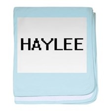Haylee Digital Name baby blanket