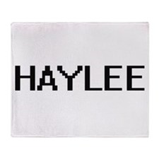 Haylee Digital Name Throw Blanket