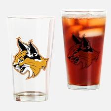Bobcat Drinking Glass