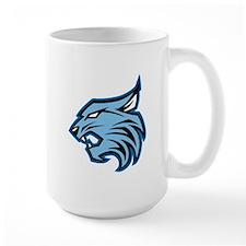 Blue Bobcat Mugs