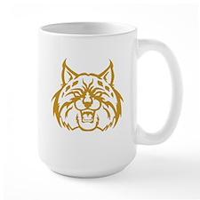 Bobcat Head Mugs