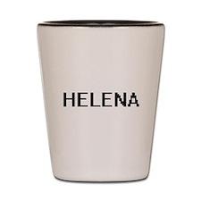 Helena Digital Name Shot Glass