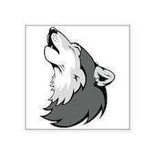 Wolf Howling Sticker