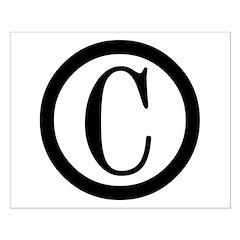 Copyright Symbol Posters