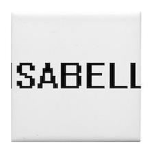 Isabell Digital Name Tile Coaster